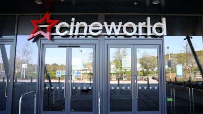Cineworld-Kette schließt wegen Corona seine Kinos in Großbritannien und den USA