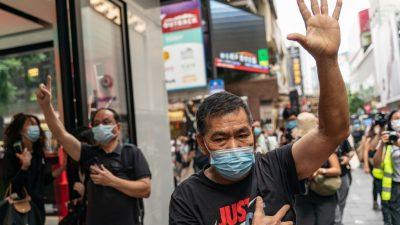 Mindestens 60 Festnahmen bei Protest am chinesischen Nationalfeiertag in Hongkong