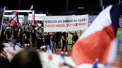 Neukaledonier stimmen über Unabhängigkeit von Frankreich ab