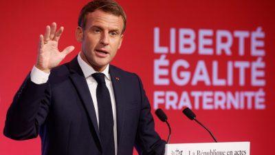 """Macron will islamistische """"Ghettos"""" zurückerobern"""