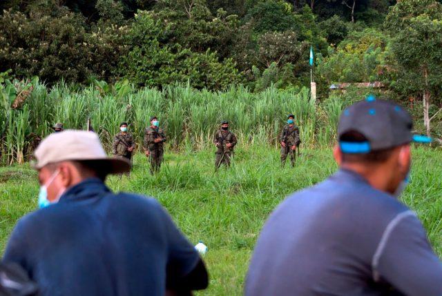 Migration in die USA: Tausende Menschen aus Honduras brechen gemeinsamen Marsch zur Grenze ab