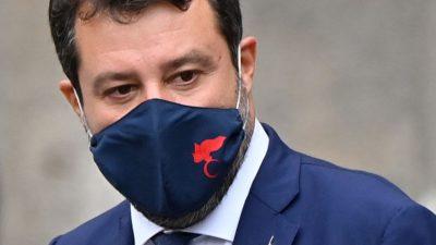 Anhörung in Italien: Salvini wegen seiner Flüchtlingspolitik vor Gericht – Conte vorgeladen