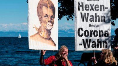 Deutsche Polizei berichtet vom 3. Oktober am Bodensee: 11.000 Teilnehmer auf deutscher Seite, Auflagen wurden beachtet