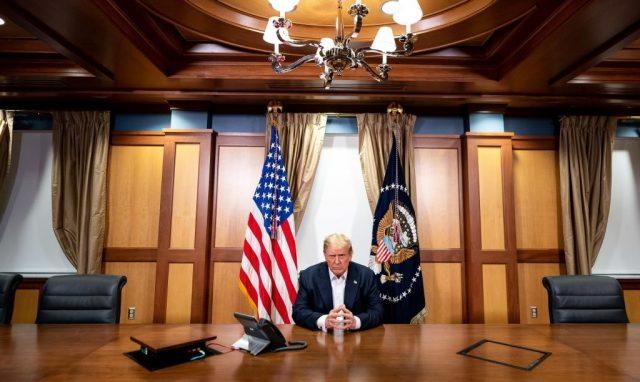 """Trump will Krankenhaus noch heute verlassen: """"Habt keine Angst vor Covid"""""""
