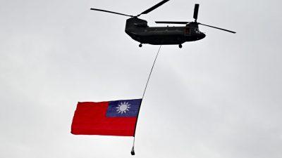 """Neue US-Regierung sichert Taiwan """"felsenfeste"""" Unterstützung zu"""