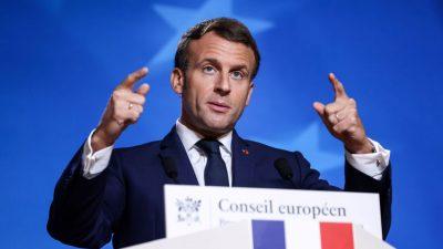 """Macron nach Anschlag: """"Islamisten dürfen in unserem Land nicht ruhig schlafen können"""""""
