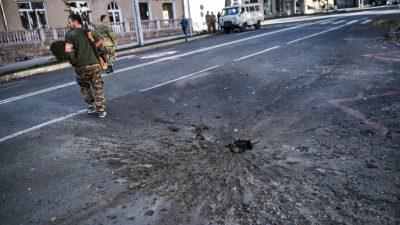 Russland sichert Armenien Hilfe im Konflikt um Berg-Karabach zu