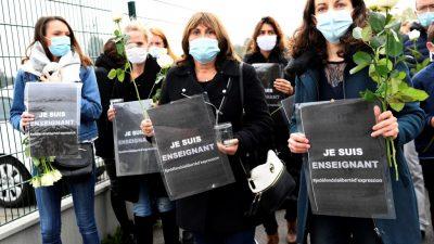 Nach Enthauptung von Lehrer: Entsetzen und Kundgebungen für Meinungsfreiheit in Frankreich