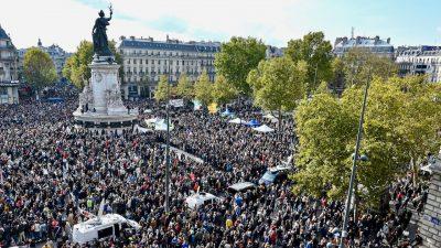 Frankreich will 231 Islamisten ausweisen – Zehntausende demonstrierten für die Meinungsfreiheit