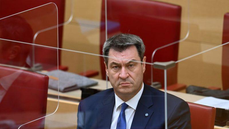 Bayerischer Landtag: Sondersitzung zu Corona-Beschlüssen und Söders Regierungserklärung