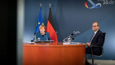 LIVESTREAM Kanzlerin Merkel: Drastische Maßnahmen ab 2. November – Bundesweiter Lockdown bis Ende November