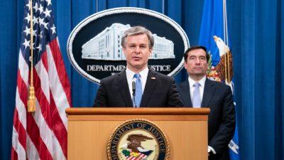 """FBI nimmt chinesische Agenten in den USA fest: """"Aus den Jägern werden Gejagte"""""""