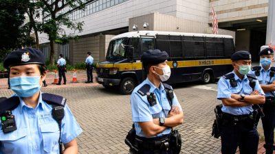 Hongkonger Justiz erhebt dritte Anklage gegen Demokratie-Aktivisten