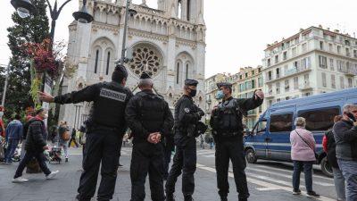 Weiterer möglicher Komplize nach Anschlag in Nizza in Gewahrsam