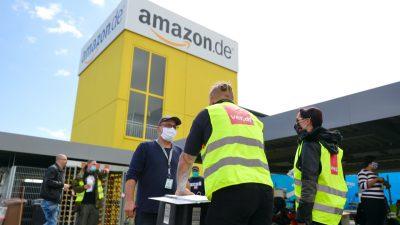Verdi ruft Amazon-Mitarbeiter zu zweitägigem Streik auf