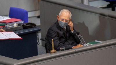 Ab Dienstag gilt im Bundestag Maskenpflicht – bis zu 25.000 Euro Bußgeld bei Verstößen