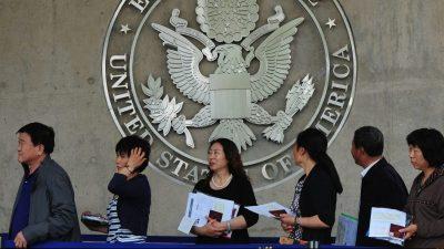 Verschärfte US-Politik: Mitgliedern der KP Chinas ist ab sofort die Einwanderung und Einbürgerung verboten