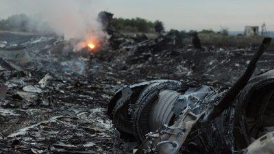 Wegen angekündigten gerichtlichen Schritten: Russland beendet Gespräche zum Abschuss von Flug MH17