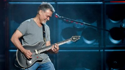 Rock-Gitarrist Eddie Van Halen an Krebs gestorben