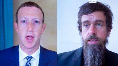 "US-Wahl: Big-Tech-CEOs wegen Zensur vor US-Senat geladen – Twitter entsperrt ""New York Post"""