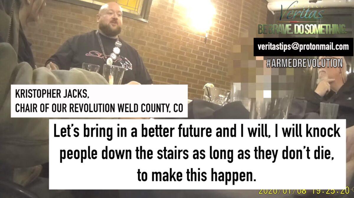 Project Veritas filmt Aktivist der Demokraten: Wenn Trump gewinnt, streben linke Militante einen Bürgerkrieg an