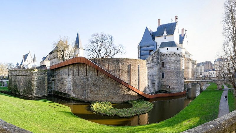Außenansicht des Château des Ducs de Bretagne in Nantes, Frankreich. Das in ihm beheimatete Museum der Stadt plant - nun ohne die Beteiligung Chinas - eine unzensierte Ausstellung über Dschingis Khan.