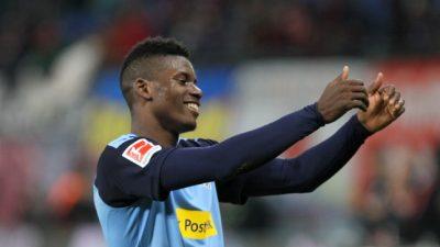 1. Bundesliga: Mönchengladbach schlägt Leipzig knapp