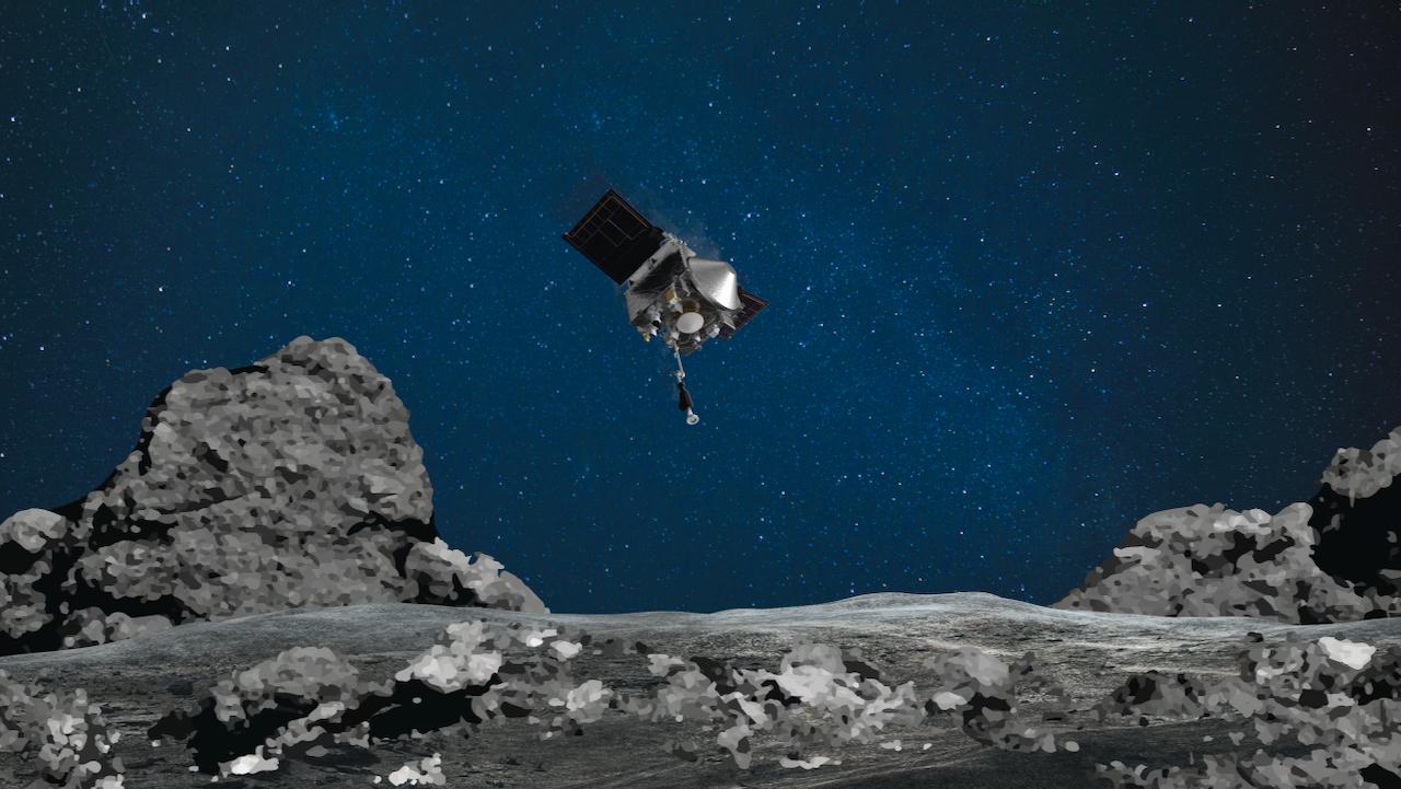 """NASA-Sonde """"OSIRIS REx"""" absolviert Asteroiden-Manöver"""