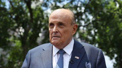 Giuliani hat Krankenhaus verlassen – und schickt Botschaft an die Amerikaner
