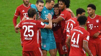 Bayern auch Supercup-Sieger – «Haben für den Pott gefightet»