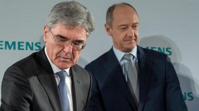 Stabwechsel bei Siemens: Roland Busch übernimmt