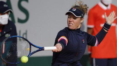Tennisspielerin Siegemund in Paris im Achtelfinale