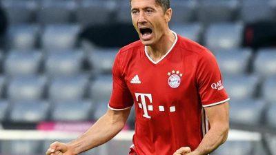 Irre Lewandowski-Show – Bayern kämpft Hertha nieder