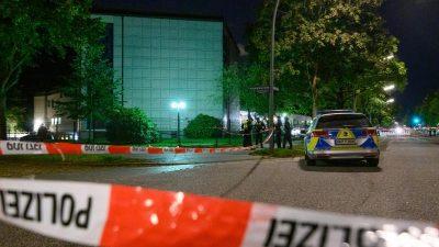 Attacke vor Hamburger Synagoge: Polizei sucht nach Motiven