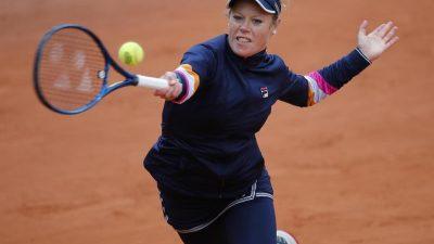 Laura Siegemund erreicht Viertelfinale der French Open