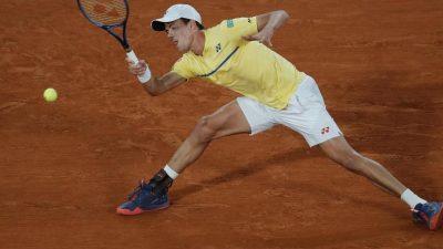 Tennisprofi Altmaier verpasst Viertelfinale in Paris
