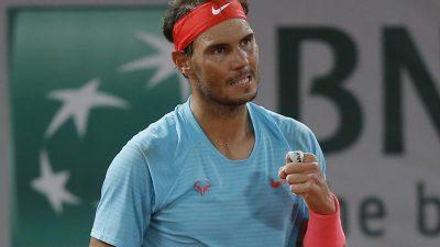 Nadal bei French Open im Halbfinale