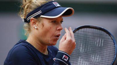 French Open: Viertelfinal-Aus für Laura Siegemund