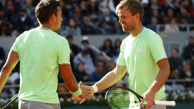 Krawietz/Mies wollen wieder ins French-Open-Finale