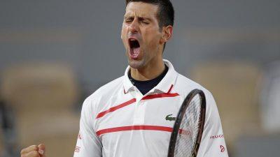 Von Djokovic bis Tsitsipas: Die French-Open-Halbfinalisten