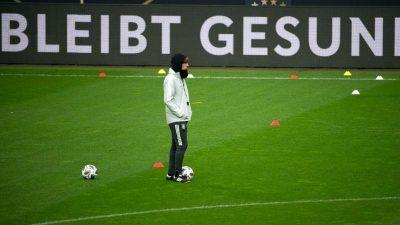 «In der Blase» nach Kiew: Knifflige Reise für DFB-Team
