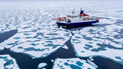 Arktischer Ozean bestand während Eiszeiten komplett aus Süßwasser