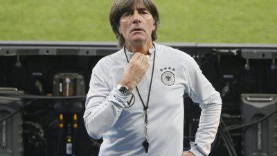 «Mit großer Vorsicht»: Aber Löw-Team will Kritiker beruhigen