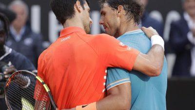 Finale in Paris: Nadal will gegen Djokovic Serie ausbauen