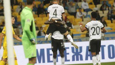 Endlich wieder ein Sieg: Löws A-Team gewinnt in Kiew