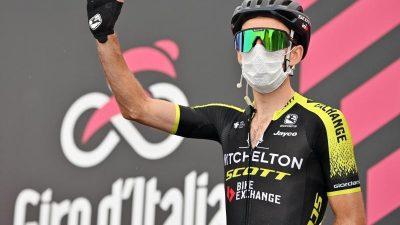 Corona-Sorgen beim Giro: Schafft es der Tross nach Mailand?