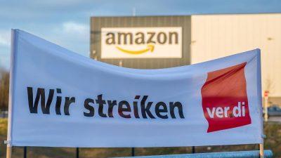 Streiks an den Amazon-Standorten in NRW werden fortgesetzt