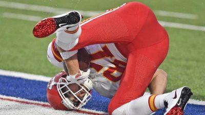 NFL-Titelverteidiger Chiefs gewinnen in Buffalo