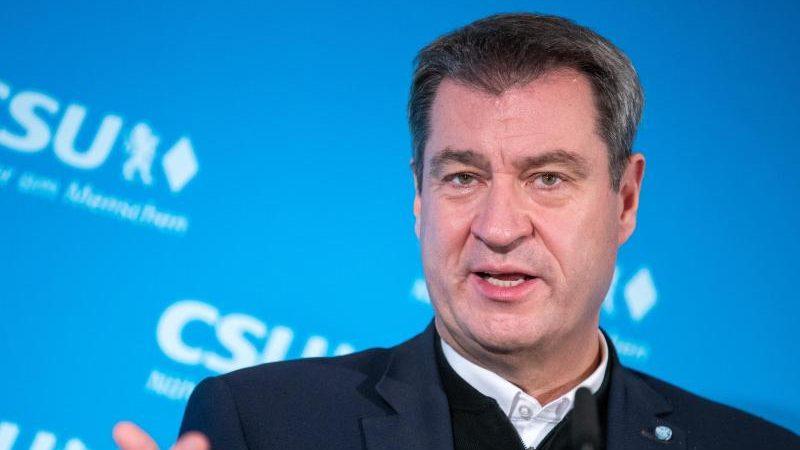 Söder sagt Querdenkern Kampf durch Staat und Verfassungsschutz an