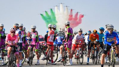 Weitere Corona-Testreihe beim Giro: Alle Fahrer negativ